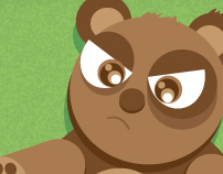 Angry Teddy!