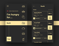 HUNGRY!? app concept