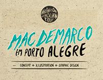 Mac Demarco em Porto Alegre - Art Project