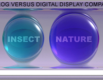 Sony Analog Versus Digital Display LCD ProductDemo