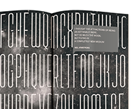 SPACE typeface book