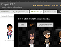 Purple Leap-e-learning portal