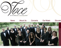 Voce - Logo, Website, Album Cover