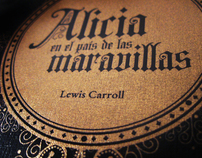 Book Deluxe edition. Alice in the wonderland