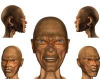 "Character ""facial"" Model"
