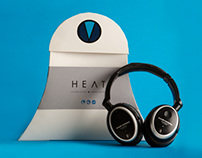 HEAT Headphones Packaging
