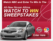 NBC Nissan Sweepstakes - Concept