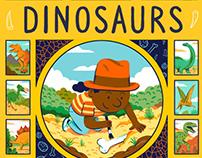 Andrés Lozano - Jungle and Dinosaurs, Children's Books