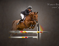 Equineart: riding sport