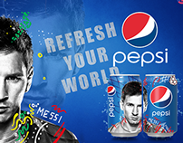 PEPSI -REFRESH YOUR WORLD-