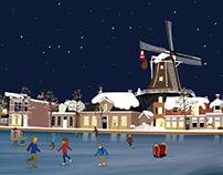 Christmas card, Millart