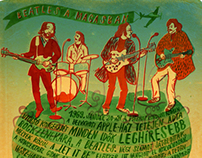 Népszabadság magazine illustration no.5 - The Beatles