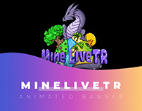 MineLiveTR Minecraft Animated Server Banner