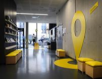 Scénographie et signalétique Université Lyon 2