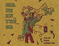 Diseño de cubierta. Impreso en serigrafia (2 tintas)