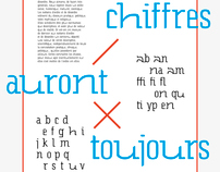 Entropie — Experimental typography