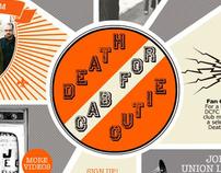 Death Cab for Cutie - website design