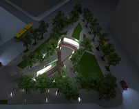 Renderings for FLEX Architecture - NYC Aids Memorial