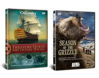 Discovery Channel, Animal Planet & Misc DVD covers