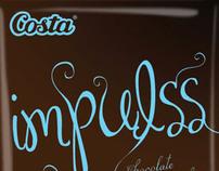 Diseño de Logo y empaque Impulss de Costa