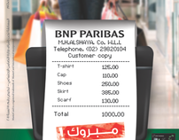 BNP Bank - Shopping Campaign