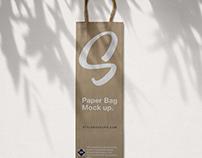 Paper Bag Free Mockup (PSD)