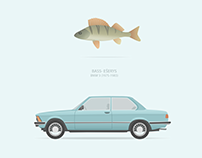 Lithuanian slang words for retro cars