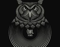 T-Shirt design 'OWL SOUNDS'