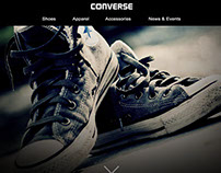 Converse redesign website