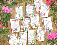 Willow Greetings 'Find A Fairy' pin card range
