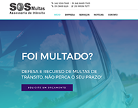 SOS Multas - Tema Wordpress