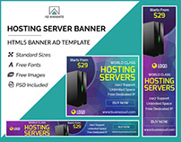 Hosting Server Banner - HTML5 Ad Template