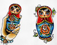 Matryoshkas Flash