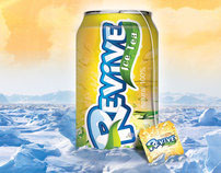 ICE TEA _LOGO + CAN + Poster