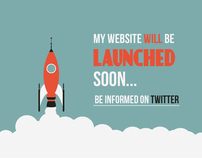 My Coming soon web page