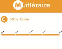 «Métro Littéraire»