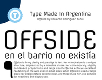 OFFSIDE - NOW Free Google Web Font