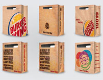 Burger King Food  Bags.