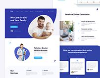 Medical Landing Page