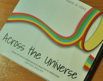 CD packaging: Across the Universe