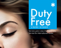 Duty Free, Catálogo de producto septiembre 2009