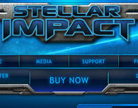 Stellar Impact website (Tactical Space Game)