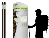 Wayfinding Signage & Interpretation Board System