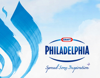Philadelphia Spread Some Inspiration Campaign