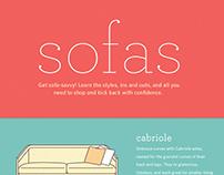 Sofas Infographic