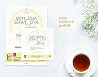 """Metti una Sera a Cena"" Visual Communication"