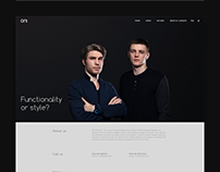 Website for ONI Architects