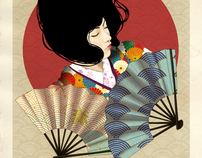 Japanese Inspired Illustrations