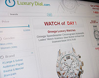 Luxury Dial E-commerce