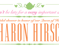 Themed Bridal Shower Invitation